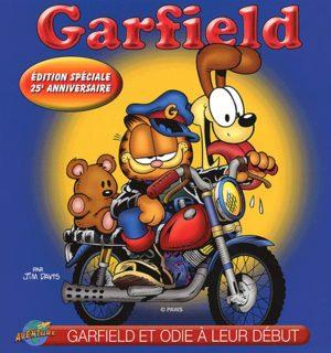 Garfield et Odie à leur début