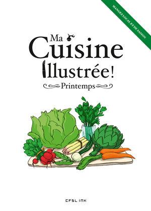 Ma cuisine illustrée - Printemps Artbook