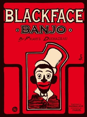 Black face banjo