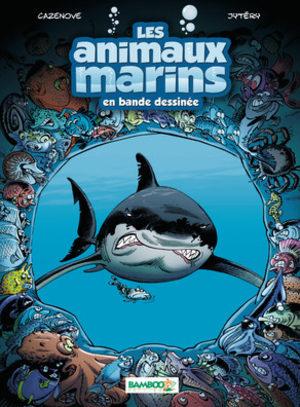 Les animaux marins en bande dessinée