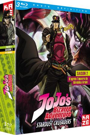 Jojo's Bizarre Adventure (saison 2) Série TV animée