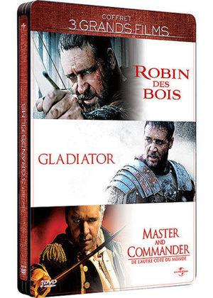 Coffret 3 grands films - Russell Crowe