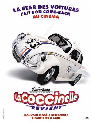 La Coccinelle revient Film