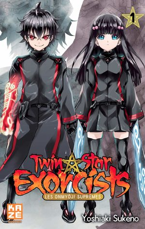 Twin star exorcists – Les Onmyôji Suprêmes Manga