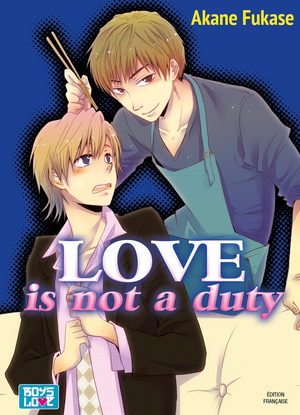 Love is not duty Manga