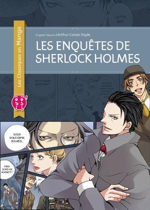Les enquêtes de Sherlock Holmes (Classiques en manga) Manga