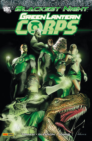 Blackest Night - Green Lantern Corps
