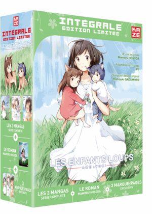 Les enfants loups - Ame & Yuki (Coffret mangas et roman)