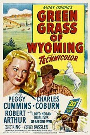 L'herbe verte du Wyoming