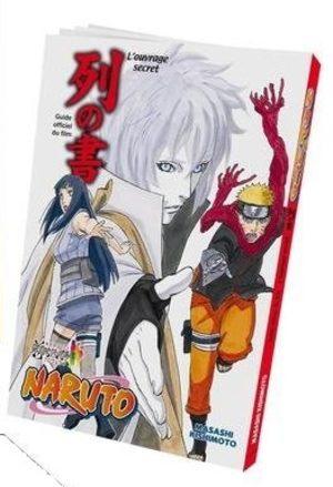 NARUTO Livre officiel du film – Les mystères - Le livre de l'alignement Produit spécial manga