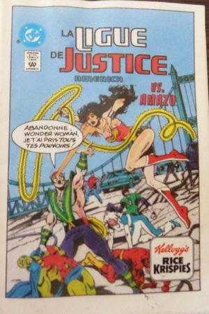 La ligue de justice America VS Amazo