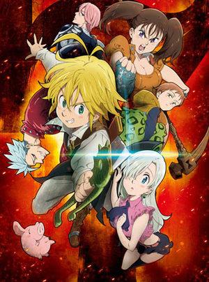 Seven Deadly Sins Série TV animée