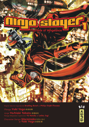 Ninja slayer Manga