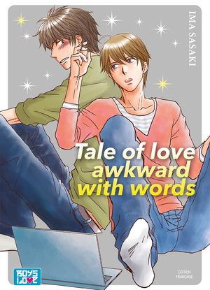 Tale of love awkward with words Manga