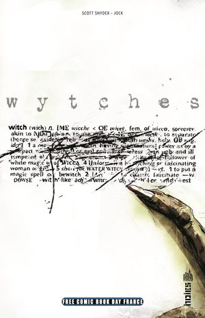 Free Comic Book Day France 2015 - Wytches