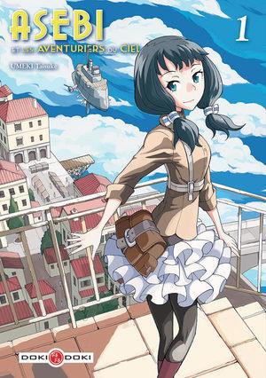 Asebi et les aventuriers du ciel Manga