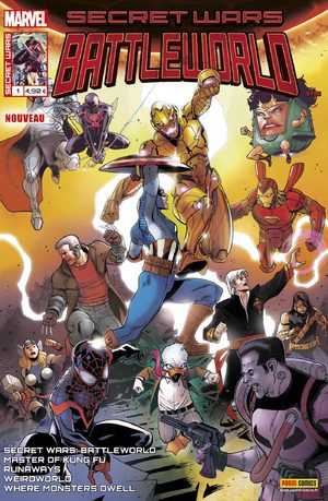Secret Wars - Battleworld