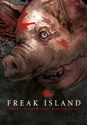 Freak island Manga