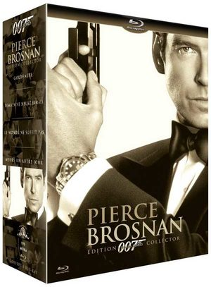 James Bond coffret Pierce Brosnan