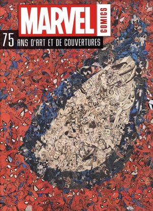 Marvel comics - 75 ans d'art et de couvertures