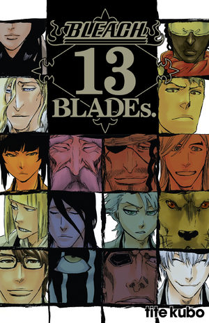 Bleach 13 BLADEs Fanbook