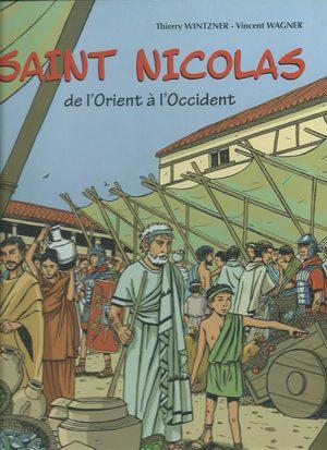 Saint Nicolas de l'Orient à l'Occident