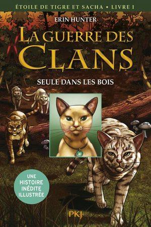 La guerre des Clans : Etoile du Tigre et Sacha Global manga
