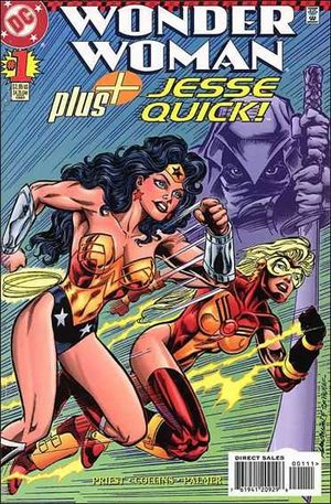 Wonder Woman Plus Jesse Quick