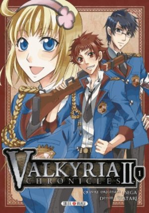 Valkyria chronicles II Manga