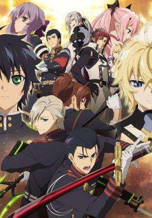 Seraph of the end saison 2 Light novel