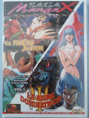 Saga Manga X vol.1 - La prison sadique / La reine dominatrice