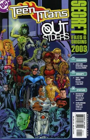 Teen Titans / Outsiders - Secret Files and Origins