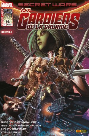 Secret Wars - Les Gardiens de la Galaxie