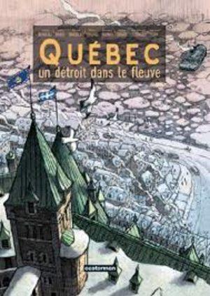 Québec - Un détroit dans le fleuve