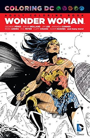 Coloring DC - Wonder Woman