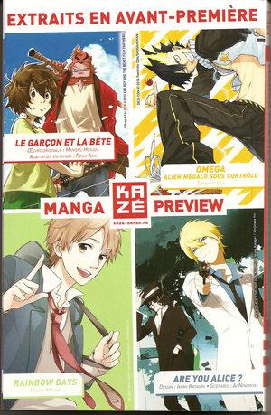 Manga Preview Kazé