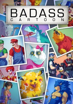 Badass Cartoons Artbook