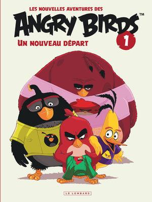 Les nouvelles aventures des Angry Birds