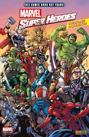 Free Comic Book Day France 2016 - Marvel Super heroes