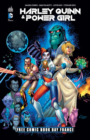Free Comic Book Day France 2016 - Harley Quinn / Power Girl