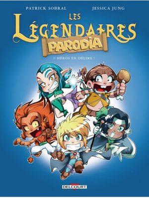 Les légendaires - Parodia