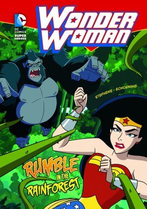 Wonder Woman - Rumble in the Rain Forest