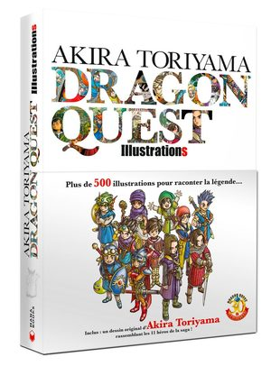 Akira Toriyama - Dragon Quest Illustrations Artbook