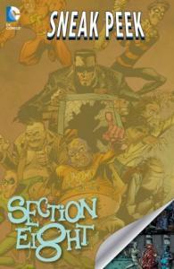DC Sneak Peek - Section Eight