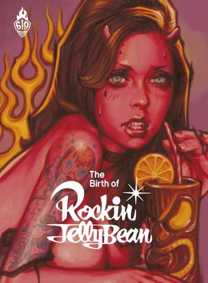 The birth of Rockin' Jelly Bean Artbook