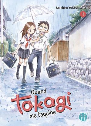 Quand Takagi me taquine Manga