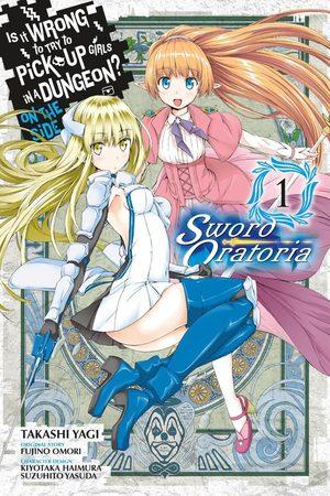 Danmachi - Sword Oratoria Manga