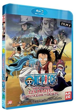 One Pïece - Film 08 : Episode D'Alabasta - Les Pirates & La Princesse Du Désert