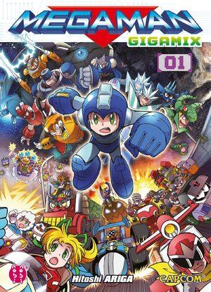 Megaman Gigamix Manga