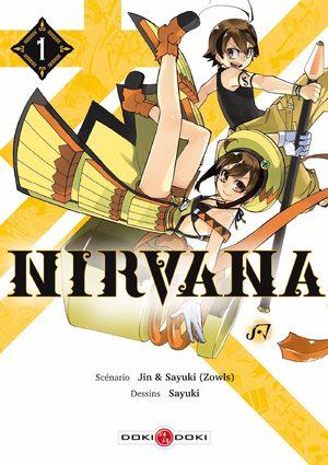 couverture, jaquette Nirvana